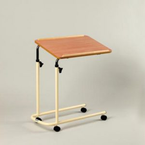 Adjustable Overbed Table with Castors