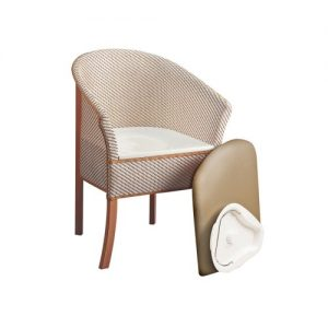 The Basket Weave Commode