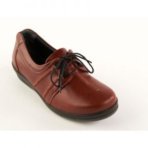 Sandpiper Easham - Ladies Extra Wide Fitting Lace Shoe