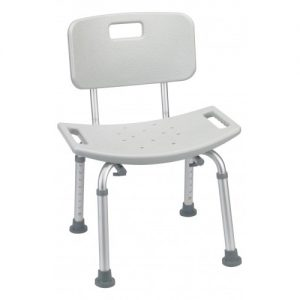 Shower Stool with Backrest