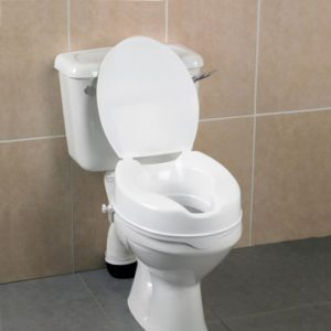 Toilet Seat Raisers with Lid