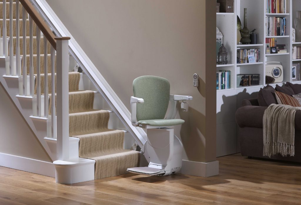 Straight Stairlifts Half width image